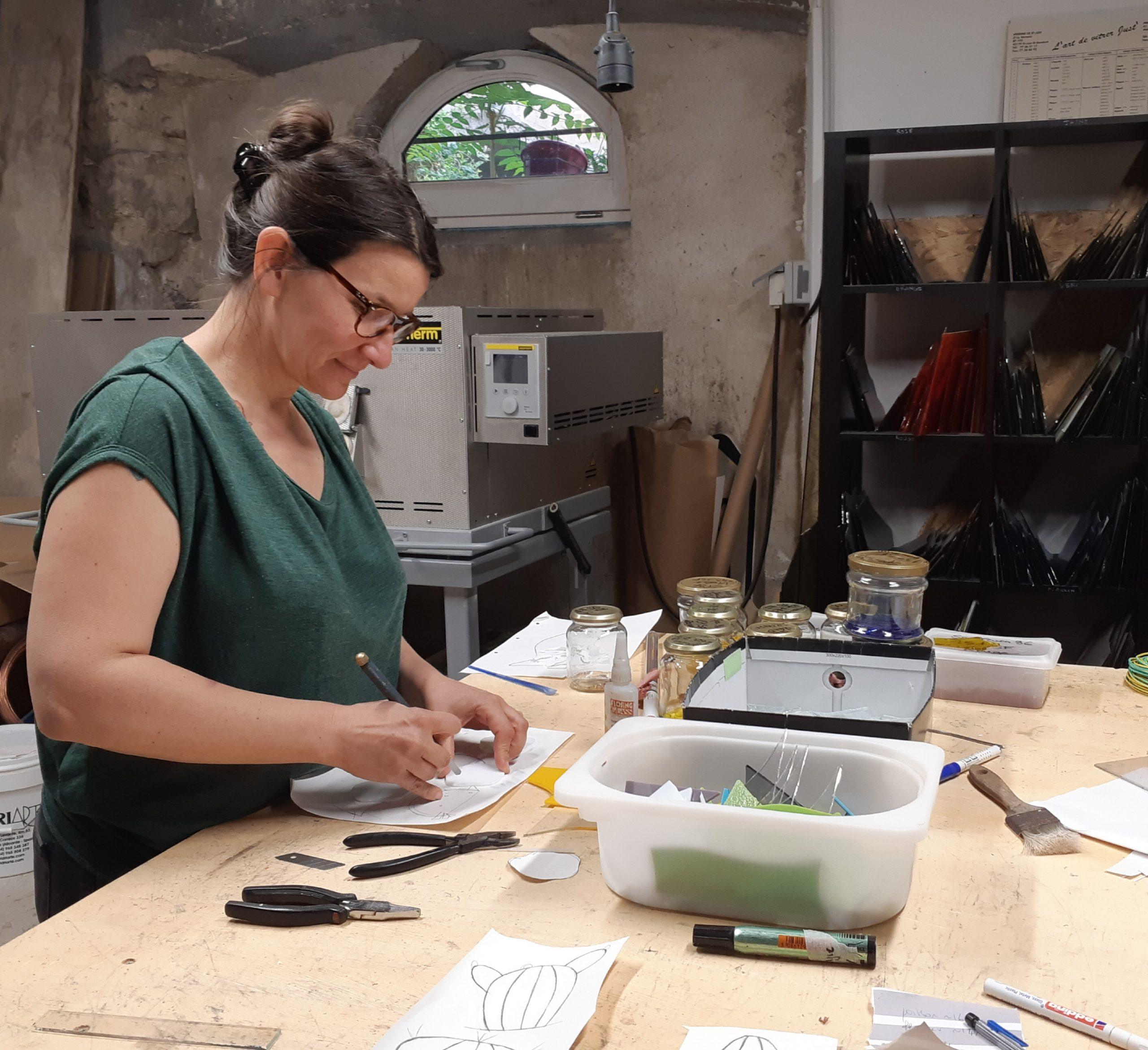 Nathalie Bagot - Atelier Couleurs Vitrail