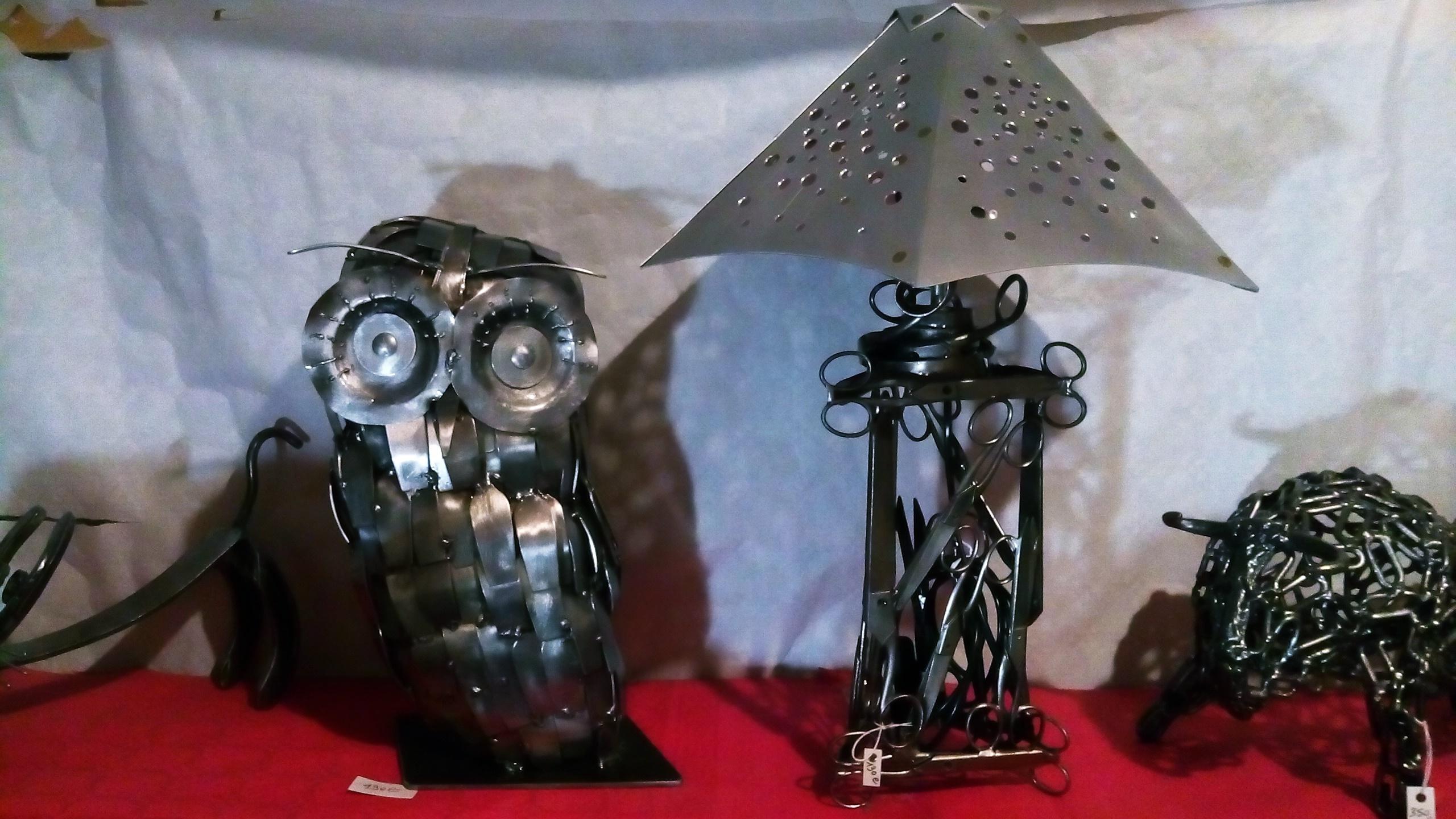 Sculptures en métal - FABRICE BAGNEUX