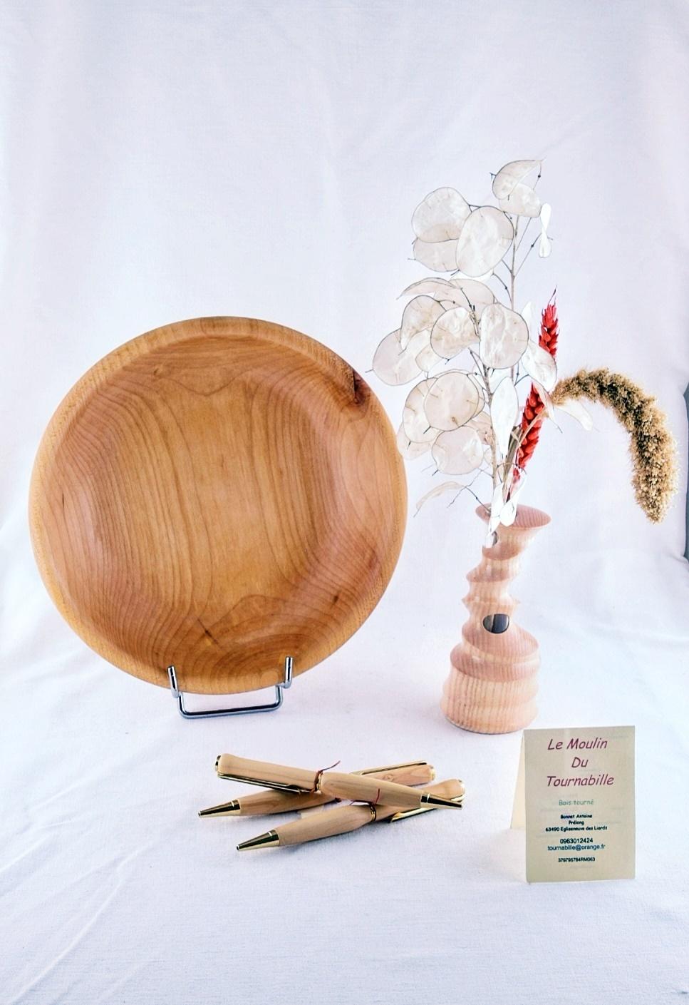 Création d'objets utilitaires ou décoratifs en bois. - Tournabille